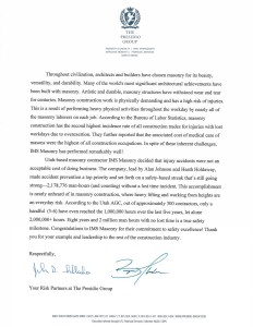 Letter of Recommendation Presidio